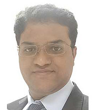 Dr.  Naveen A J, Cardiologist