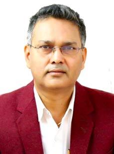Dr.  Chandra Bhushan, Orthopedician