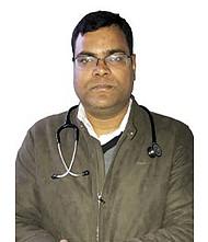 Dr.  Niraj Kumar, Pediatrician