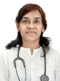 Dr.  Sailaza V Ganta, Physician