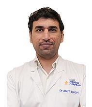 Dr.  Amit Kumar Singh, Neurosurgeon