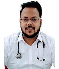 Dr.  Aniket Oswal, Physician