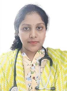 Dr.  Anusha Molugu, Physician