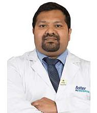 Dr.  Ashish Philip Zachariah, Orthopedician
