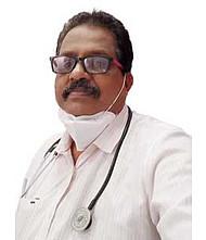 Dr.  Gangadhar MC, Pulmonologist