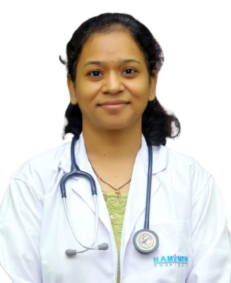 Dr.  Kanchan S Channawar, Pediatrician