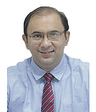 Dr.  Kuldeep Gadkari, Orthopedician