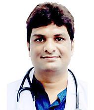 Dr.  Lokeswar Reddy, Pulmonologist