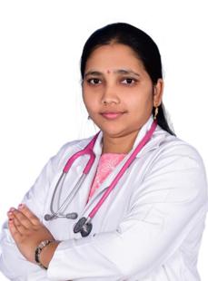 Dr.  M Naga Jyothi, Pediatrician