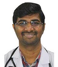 Dr.  Manoj Vellingiri, Cardiologist