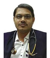 Dr.  Pradip Saha, Cardiologist
