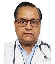 Dr.  R K Mehra, Pulmonologist