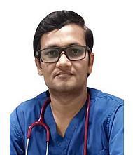 Dr.  Rakesh Yadav, Pulmonologist