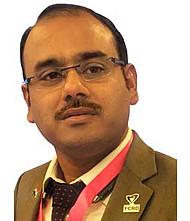 Dr.  Samadarshi Datta, Pulmonologist