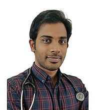 Dr.  Sanketh Kotne, Oncologist