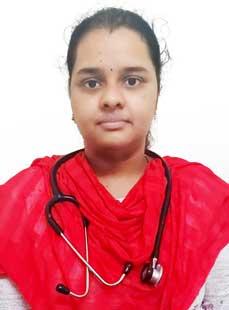 Dr.  R V Soujanya, Pediatrician