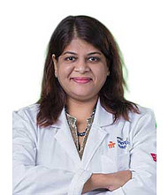 Dr.  Sufla Saxena, Pediatrician
