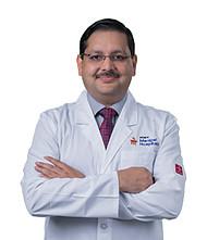 Dr.  Vedant Kabra, Oncologist