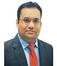Dr.  Vinod Chavan, Pulmonologist