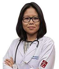 Dr.  Ilin Kinimi, Pediatrician