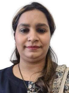 Ms.  Fizzia Syeda, Physiotherapist