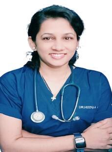 Ms.  Heenaa Mackasare, Physiotherapist
