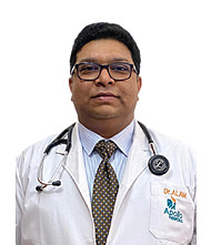 Dr.  Ahmer Alam, Physician