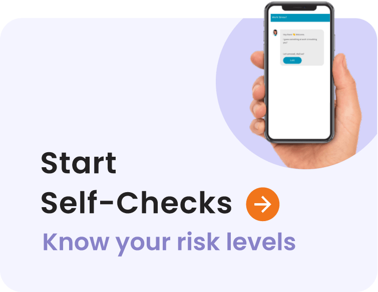 Start Self-Checks - Know your risk levels