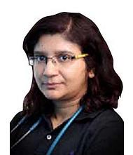 Dr.  Raktima Chakrabarti, Pediatrician