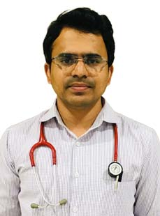 Dr.  Kishore Baske, Pediatrician