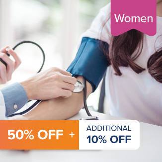 Comprehensive Full Body Check - Women